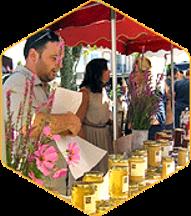 Vente des miels du terroir des ruchers de Bonnechère à Forcalquier